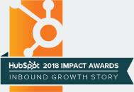 Hubspot 2018 Impact Award